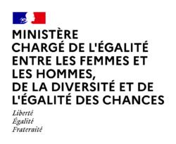 With the support of the Ministère chargé de l'égalité entre les femmes et les hommes, de la diversité et de l'égalité des chances